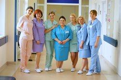 pielęgniarka spotyka się z gliną