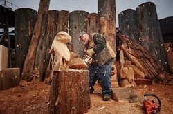 Mistrzowie rzeźbienia piłą