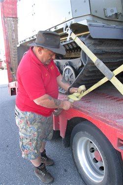 Kierowcy wielkich ciężarówek