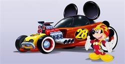 Mickey i raźni rajdowcy