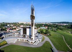 Msza święta z Sanktuarium Bożego Miłosierdzia w Krakowie Łagiewnikach