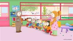 Chupi idzie do szkoły