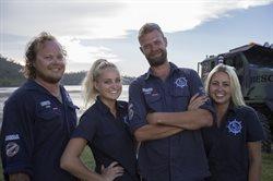 Ratownicy morscy z Australii